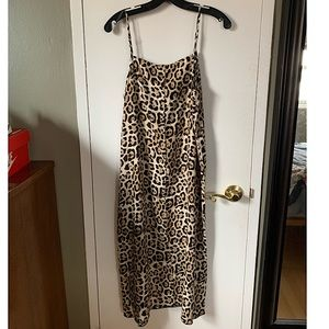ATM Anthony Thomas Melillo Dresses - *SOLD* ATM Brand new Silk Leopard Dress with tags
